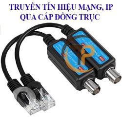 Bộ chuyển mạng LAN IP sang cáp đồng trục cho Camera, thiết bị mạng PKC-3003