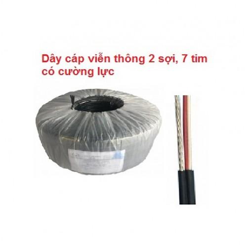Dây cáp dùng đi Balun 500m, 1 đôi dây + cường lực, đại lý, phân phối,mua bán, lắp đặt giá rẻ