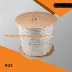 Cáp đồng trục RG6 + 2C 100m CCS