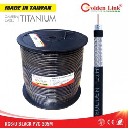Dây cáp camera Golden Link RG6/U TITANIUM