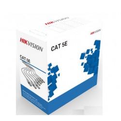 Cáp mạng HIKVISION CAT5E UTP DS-1LN5E-E/E