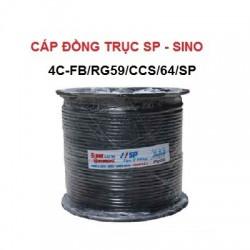 Cáp đồng trục SP SINO 4C-FB/RG59/CCS/64/SP
