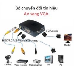 Bộ chuyển đổi tín hiệu Analog BNC, AV sang VGA FY-1302