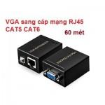Bộ chuyển VGA qua dây mạng RJ45 60M