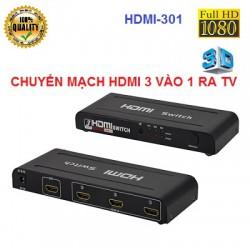 Bộ chuyển mạch gộp HDMI 3 vào 1 ra HDMI-301