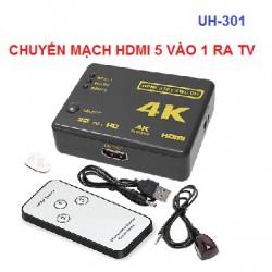 Bộ chuyển mạch gộp HDMI 3 vào 1 ra UH-301