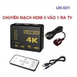 Bộ chuyển mạch gộp HDMI 5 vào 1 ra UH-501