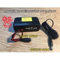 Bộ Adapter chuyển đổi nguồn điện 12V sang 5V PK-C12Vto5V