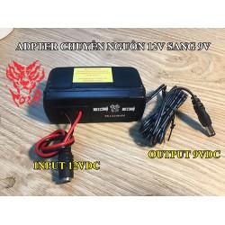 Bộ Adapter chuyển đổi nguồn điện 12V sang 9V PK-C12Vto9V