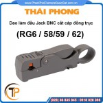 Dao làm đầu Jack BNC cắt cáp đồng trục RG59/6/58