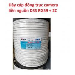 Dây cáp đồng trục liền nguồn 305m giá rẻ, chuyên kéo dây camera