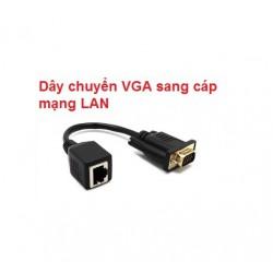 Dây chuyển VGA sang cáp mạng LAN
