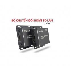 Kéo dài HDMI qua dây mạng 120M - TCP/IP