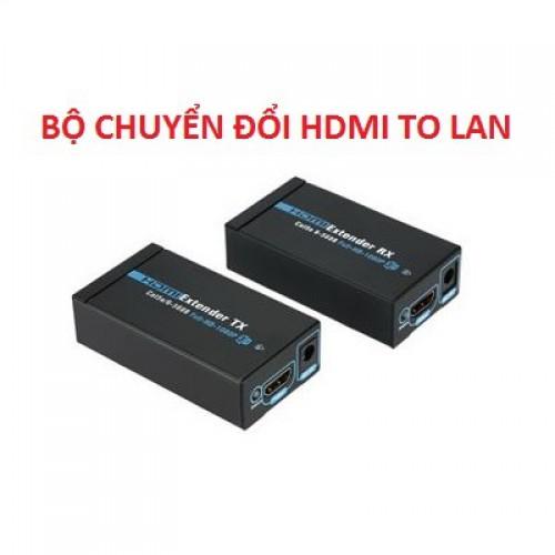 Kéo dài HDMI qua dây mạng LAN 60m, đại lý, phân phối,mua bán, lắp đặt giá rẻ