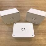 Hộp nối kỹ thuật, hộp box nhựa 11x11cm
