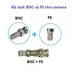 Bộ Jack BNC và F5 cho camera