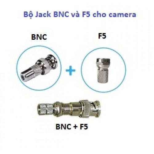 Bộ Jack BNC và F5 cho camera, đại lý, phân phối,mua bán, lắp đặt giá rẻ