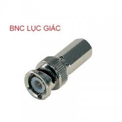 Đầu Jack nối camera BNC lục giác
