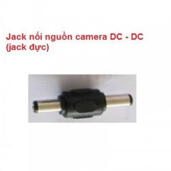 Jack nối nguồn camera DC - DC (jack đực)