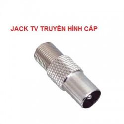Jack anten TV thẳng kết nối tín hiệu truyền hình cáp