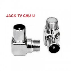 Jack anten TV U kết nối tín hiệu truyền hình cáp