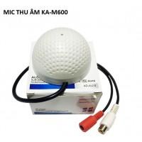 Mic thu âm cho camera KA-M600 hình nấm