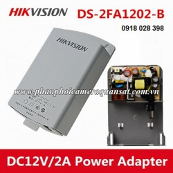 Nguồn camera hikvision 12V 2A,loại treo ngoài trời DS-2FA1202-B