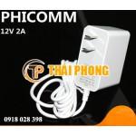 Nguồn adapter PHICOMM 12V2A