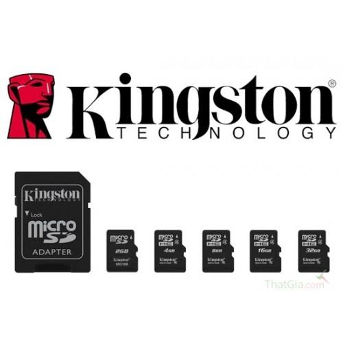 Thẻ nhớ KINGSTON Micro SD 16GB, đại lý, phân phối,mua bán, lắp đặt giá rẻ