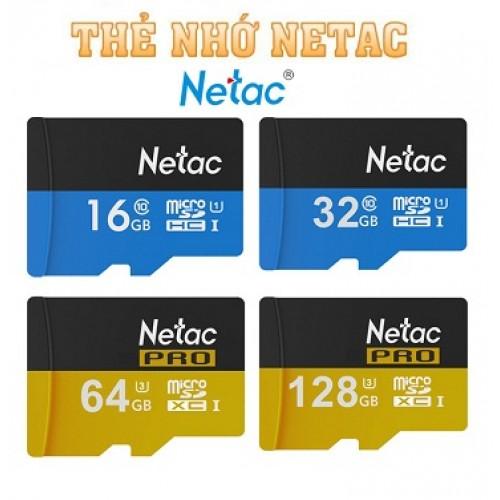 Thẻ nhớ NETAC Micro SD 128GB, đại lý, phân phối,mua bán, lắp đặt giá rẻ