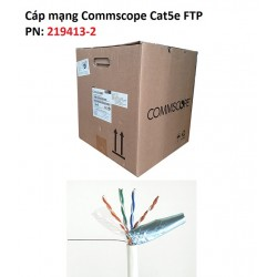 Dây mạng Cat5e FTP Commscope AMP 219413-2 chống nhiễu thùng 305 mét
