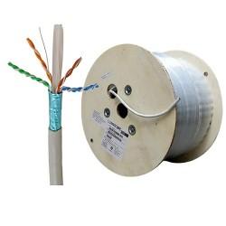 Dây mạng Cat6a FTP Commscope AMP 1859218-2 chống nhiễu cuộn 305 mét