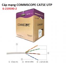 Dây mạng Cat5e UTP Commscope AMP 6-219590-2 thùng 305 mét