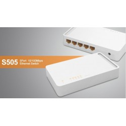 Switch TOTOLINK S505 5 ports 10/100Mbps