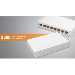 Switch TOTOLINK S808 8 ports 10/100Mbps