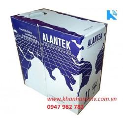 Cáp mạng Alantek Cat6 UTP, 23AWG, Sol, XF, CM/Blue/RB, 4 Pairs