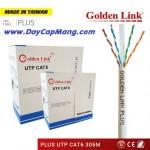 Cáp mạng Golden Link plus F/UTP Cat 6 Platinum (màu trắng)