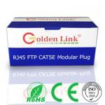Đầu bấm cáp mạng Modular Plug Rj45 FTP kim loại, chống nhiễu