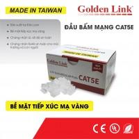 Đầu bấm cáp mạng Modular Plug Rj45 Golden Link UTP