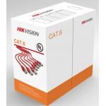 Dây cáp mạng CAT6 Hikvision DS-1LN6-UU 8 lõi đồng