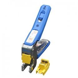 Dụng cụ nhấn cáp F-Tool, bấm cáp mạng vào Keystone Jack dạng dọc DINTEK F-Tool (6103-01006)