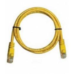Patch Cord UTP Cat.5e, 0,5mRJ45, yellow 1201-03172