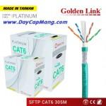 Dây cáp mạng Golden Link SFTP CAT6 (chống nhiễu)
