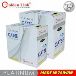 Cáp mạng Golden Link SFTP Cat 5e Platinum (xanh dương) 100M
