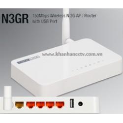 Hướng dẫn cấu hình nhanh TOTOLINK N3GR với USB 3G