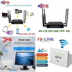 Bộ phát wifi 3G 4G CPE-V08, 32 user, 2 port LAN