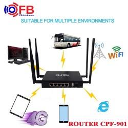 Bộ phát wifi 3G 4G CPF-901 32 user, 5 port, 4 Anten