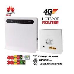Bộ phát wifi 3G 4G Huawei B593, 4 cổng LAN, hỗ trợ 32 user