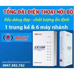 Tổng đài điện thoại ADSUN FX 106