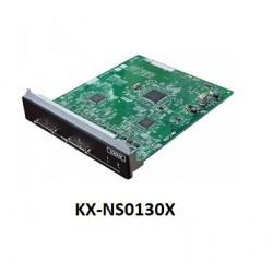 Cart kết nối với 2 tổng đài panasonic KX-NS0130X